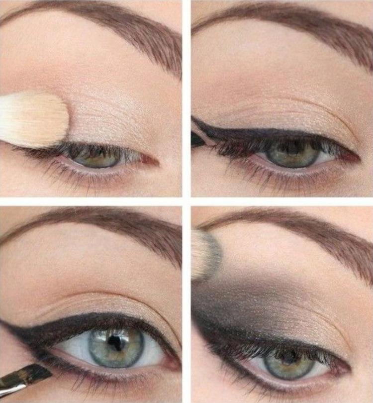 moderne Damenfrisuren und Schminktipps Augen