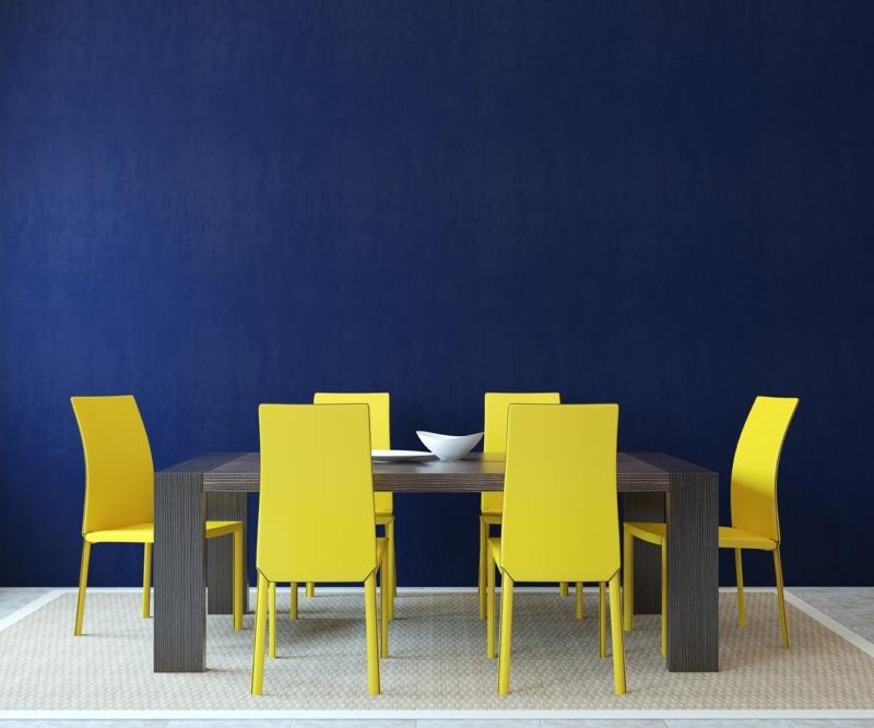 Moderne Wandfarben Blau Esszimmer Wandfarben Trends