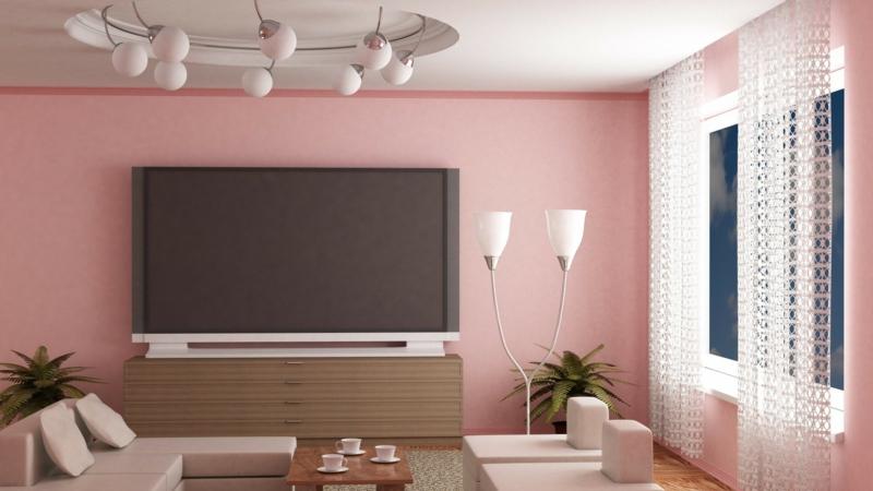 moderne wandfarben fürs jahr 2016: welche sind die neuen trendfarben? - Wohnzimmer Grau Magenta