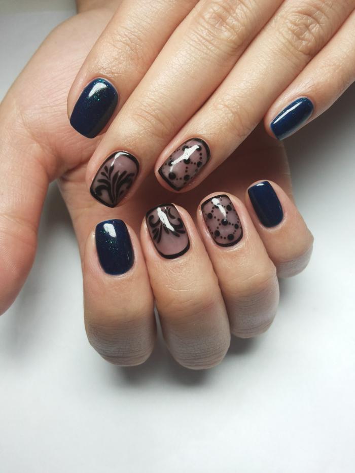 nagel design fingernägel muster gelnägel ideen