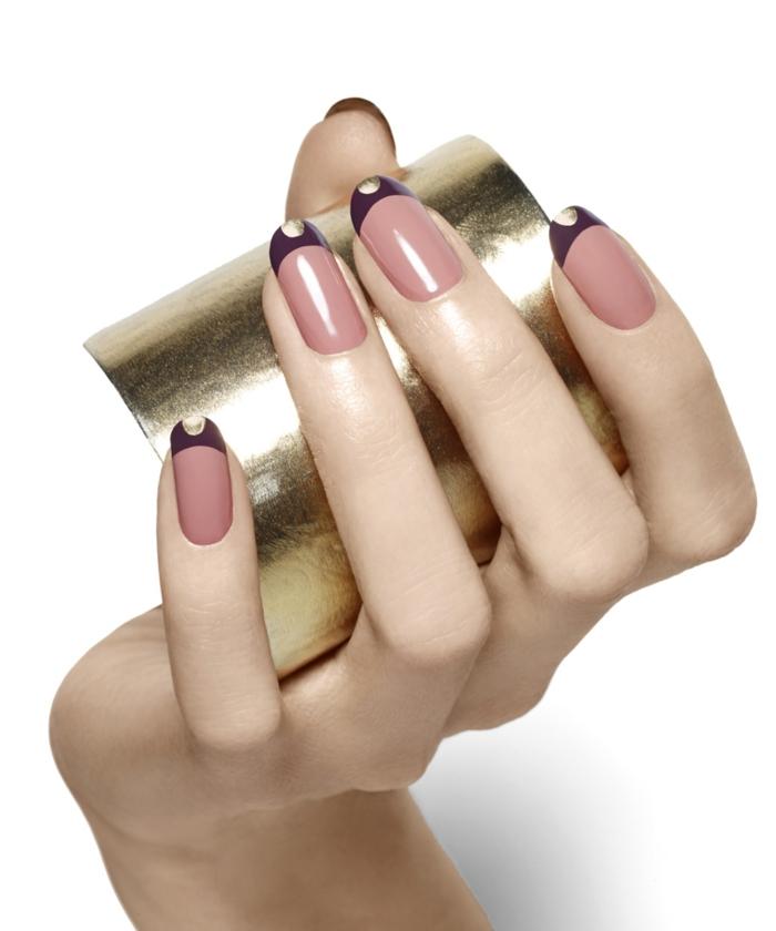 nagellack trends fingernägel muster nagel design ideen