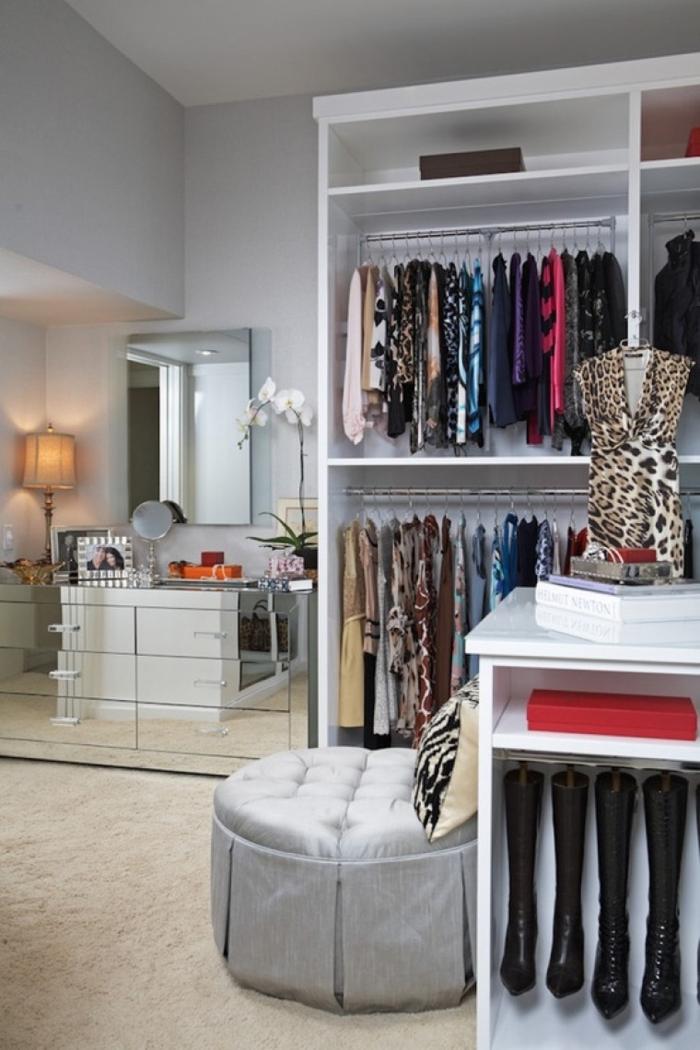 offener kleiderschrank zimmer einrichten begehbarer kleiderschrank