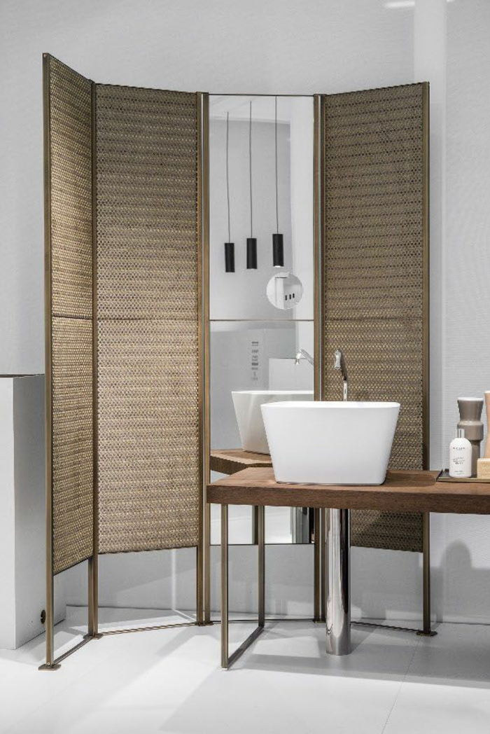 paravents raumtrenner badezimmer modernes design trendir MAKRO Marco taietta