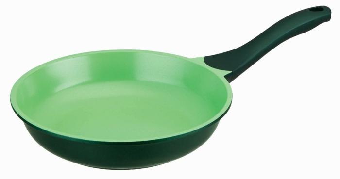 pfanne kaufen keramikbeschichtung grün oleio kopa serie