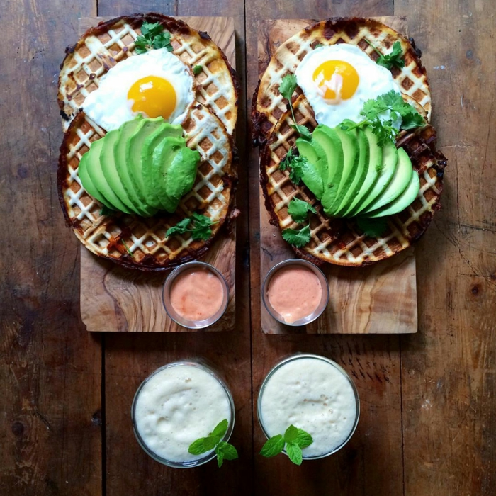 frühstücksideen leckeres frühstück gesundes frühstück rezepte avokado