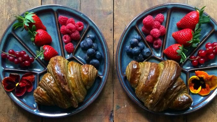 frühstücksideen leckeres frühstück gesundes frühstück rezepte beeren liebe croissant