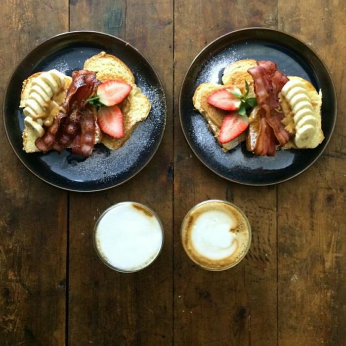 frühstücksideen leckeres frühstück gesundes frühstück rezepte bekon
