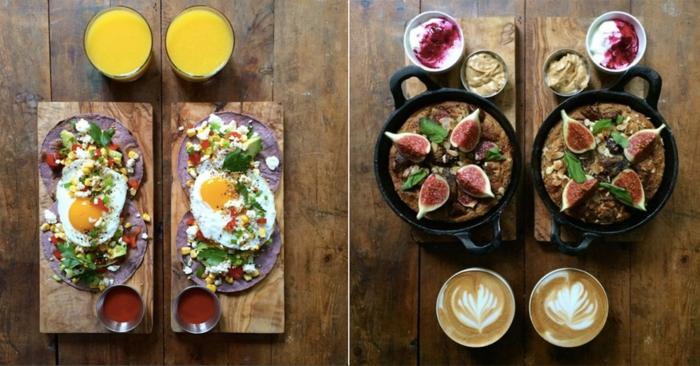 frühstücksideen leckeres frühstück gesundes frühstück rezepte däftig