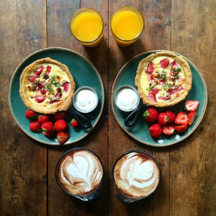 frühstücksideen leckeres frühstück gesundes frühstück rezepte erdbeer