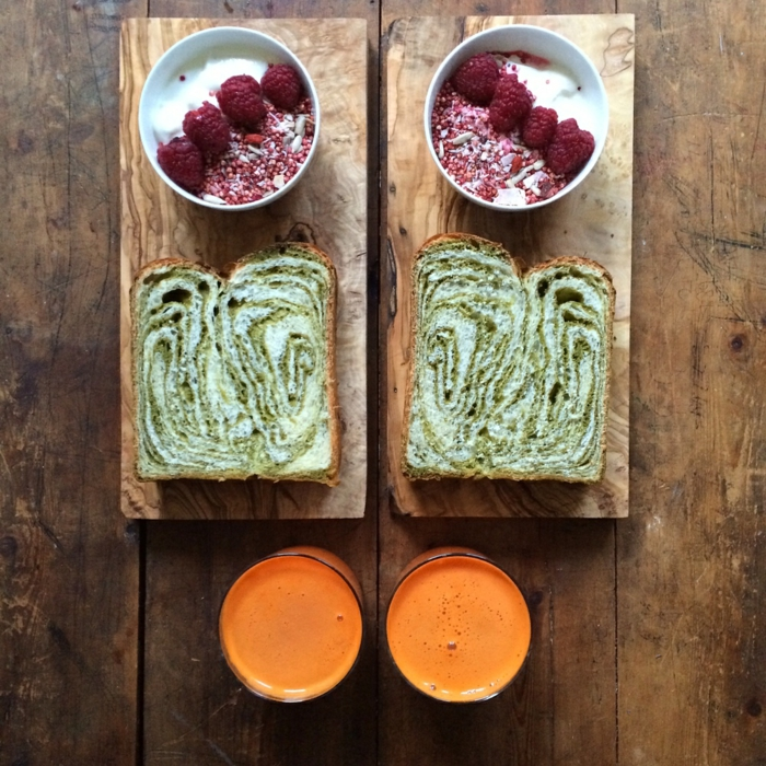 frühstücksideen leckeres frühstück gesundes frühstück rezepte gruense brot