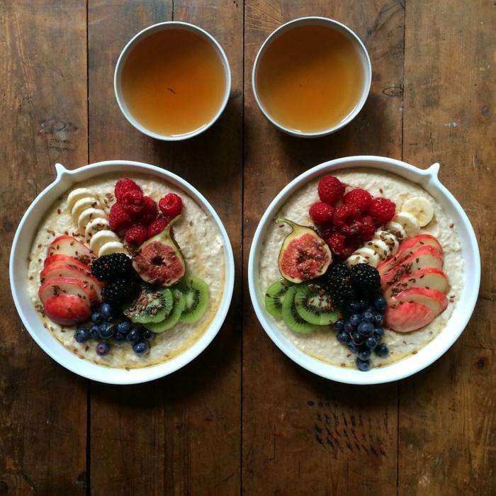 frühstücksideen leckeres frühstück gesundes frühstück rezepte mischung