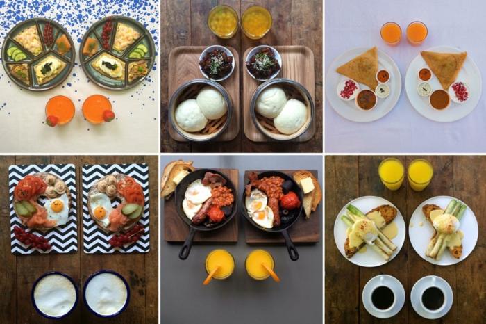frühstücksideen leckeres frühstück gesundes frühstück rezepte mix