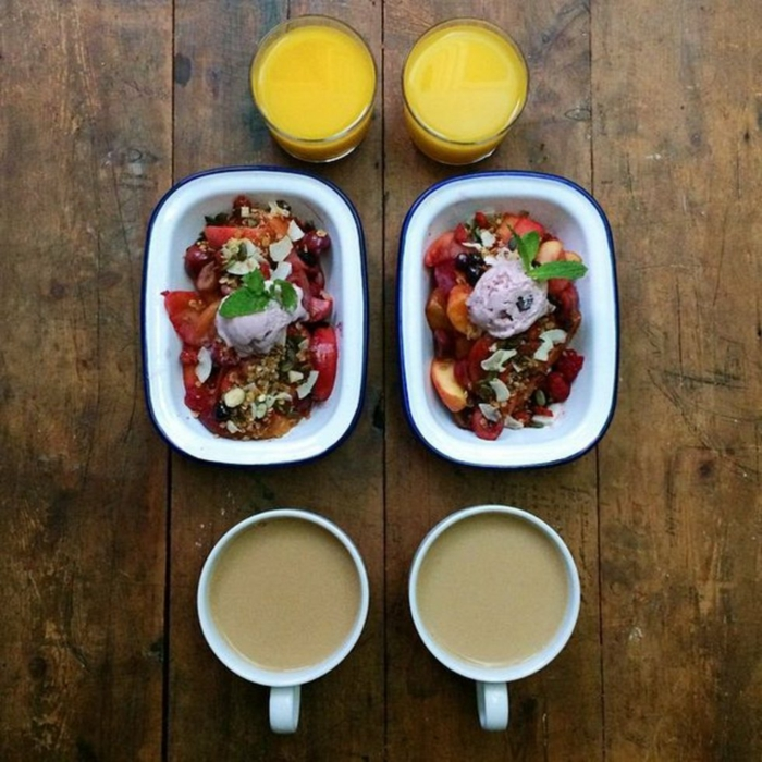 frühstücksideen leckeres frühstück gesundes frühstück rezepte muesli