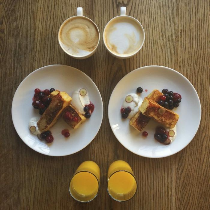 rühstücksideen leckeres frühstück gesundes frühstück rezepte pfannkuchen