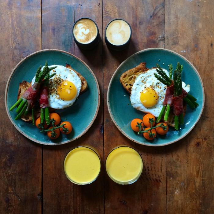 weight watchers frühstück gesundes frühstück rezepte spargel