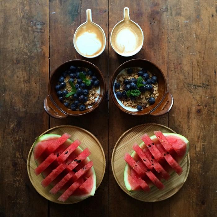 weight watchers frühstück leckeres frühstück gesundes frühstück rezepte wassermelone
