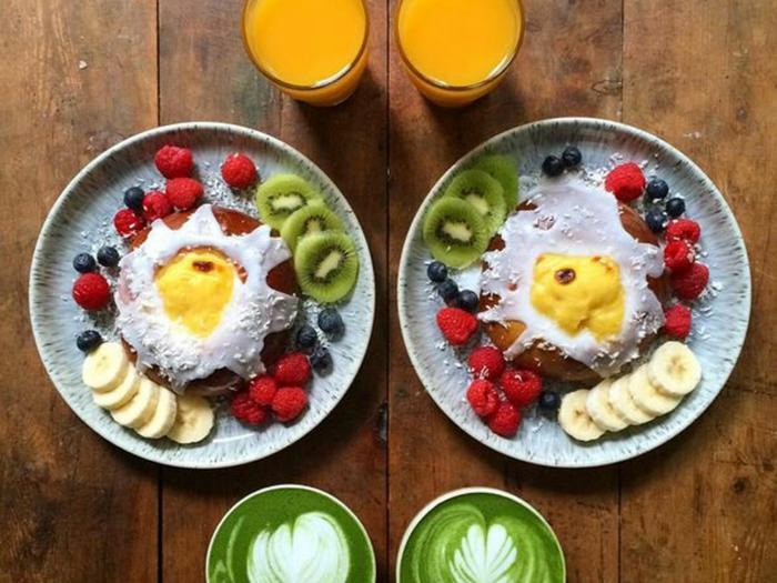 frühstücksideen leckeres frühstück gesundes frühstück rezepte zitrus mitte