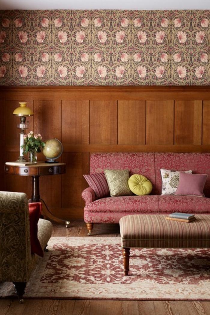 rustikale Raumgestaltung Ideen Wohnzimmer Möbel Holz
