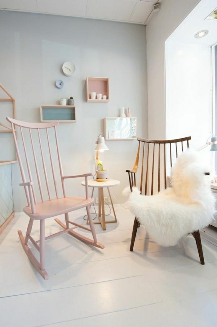 Haus renovieren mit umweltfreundlichen mitteln geht es for Schaukelstuhl rosa