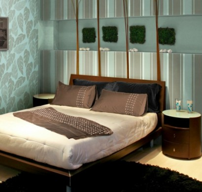 wandgestaltung schlafzimmer. Black Bedroom Furniture Sets. Home Design Ideas
