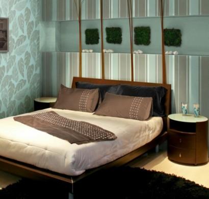 wandgestaltung schlafzimmer. Black Bedroom Furniture Sets. Home Design Ideas