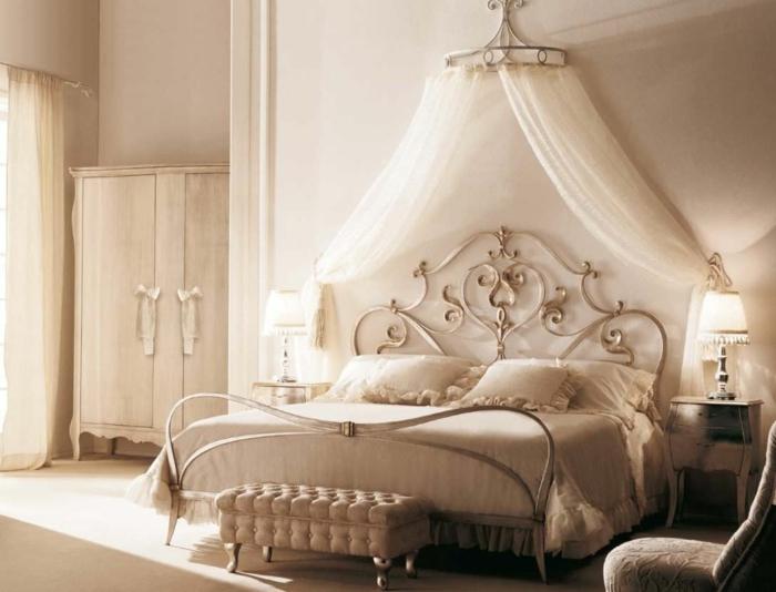 Schlafzimmer ideen mit raffiniertem touch und hohem stil - Romantisch idee ...