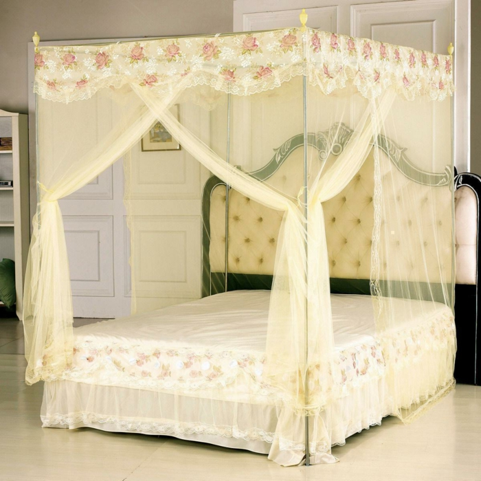 schlafzimmer ideen himmelbett ~ kreative deko-ideen und ... - Schlafzimmer Ideen Himmelbett