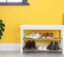 Schuhregal selber bauen – 30 pfiffige DIY Ideen für Ihre Schuhaufbewahrung