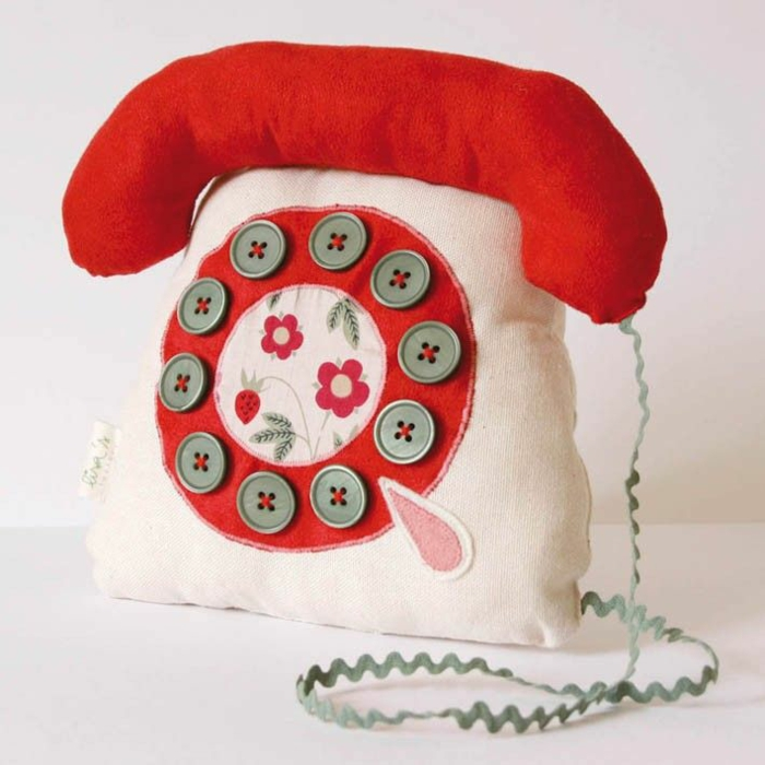 türstopper retro telefon stoff etsy
