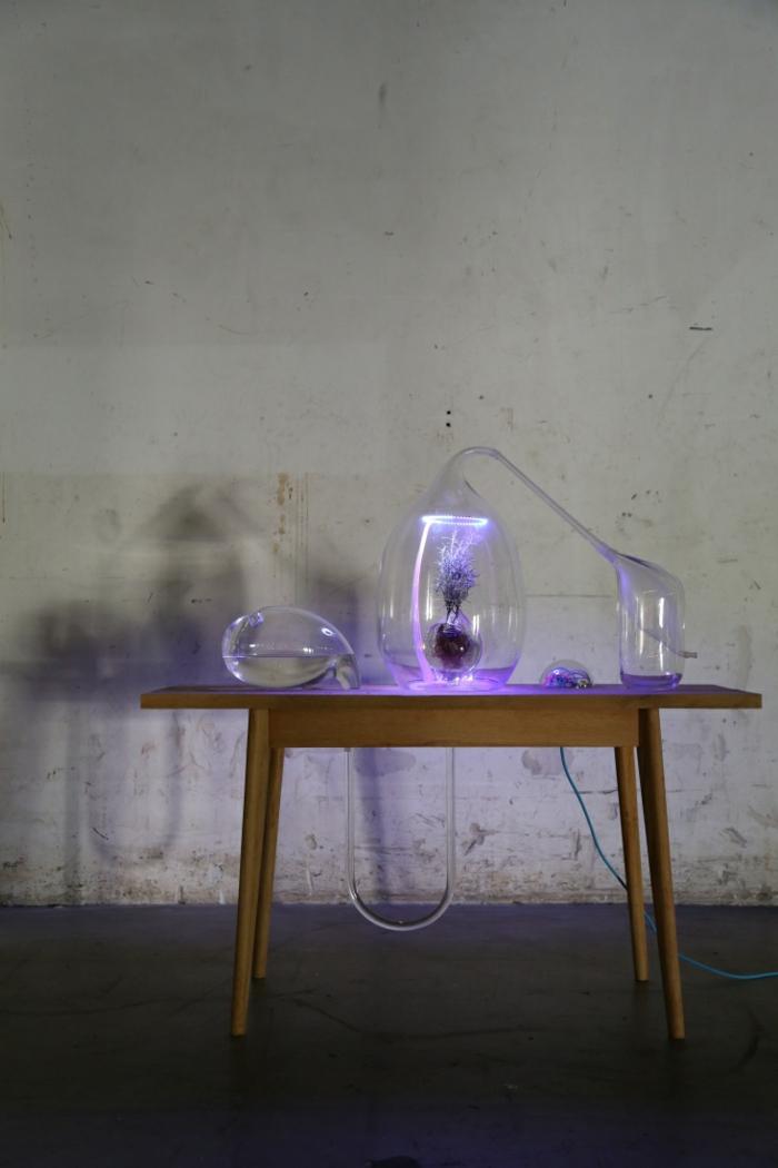 trends möbel dutsch design week ausstelllung glas modern