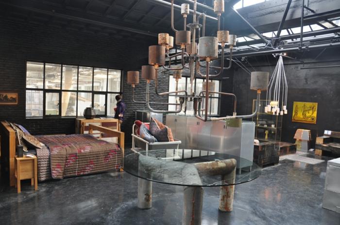 trends möbel dutsch design week ausstelllung industrieller stil upcycling