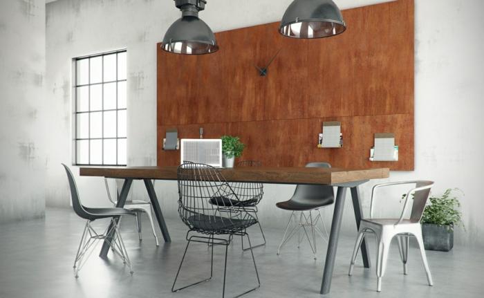 trends möbel dutsch design week industrieller stil