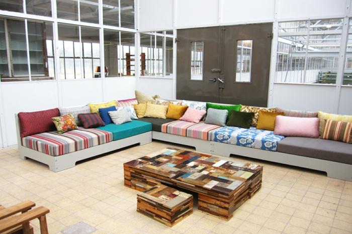 Trends Mbel Dutsch Design Week Piet Hein Eek Wohnzimmereinrichtung Couchtich Sofa