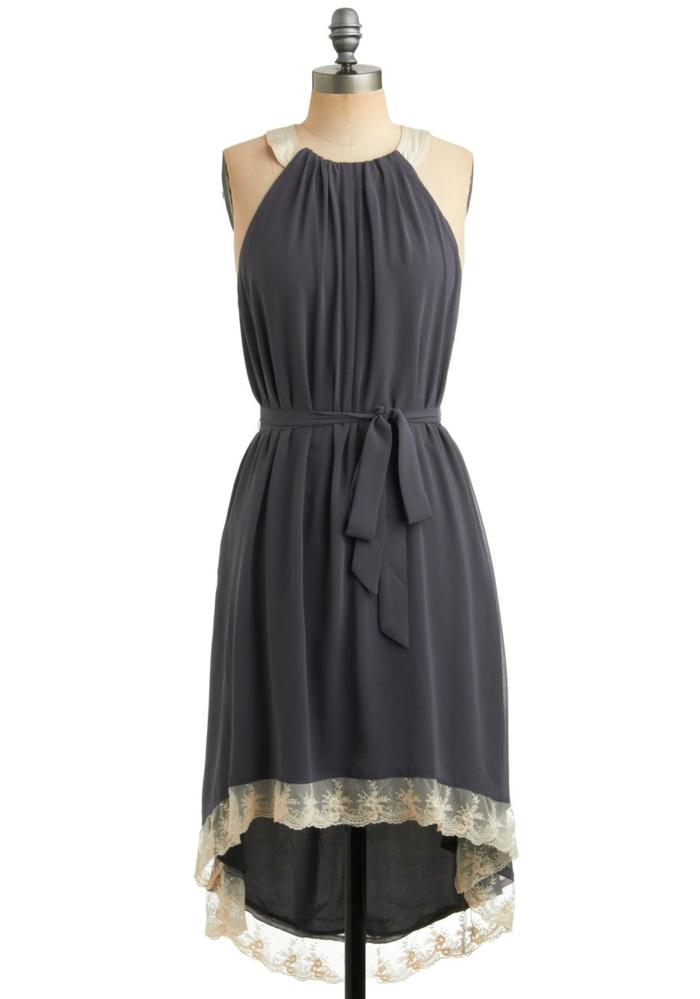 vintage kleider grau 20er vintage mode damen