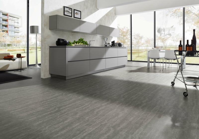 modernes wohnzimmer schwarz weiss laminat fair nett on modern ...