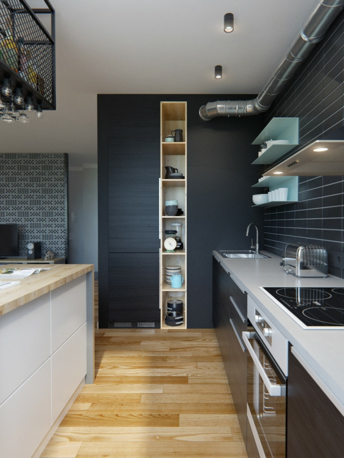 Contrasting Kitchen Colour Ideas