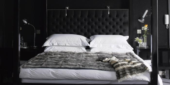 Wände Streichen Ideen In Dunklen Schattierungen - Ideen für schlafzimmer streichen