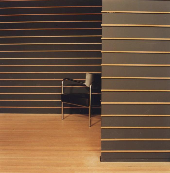 wanddesign wandgestaltung wandfarbe farbgestaltung interiordesign braun streifen