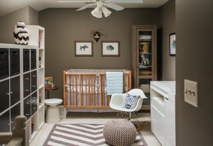 60 berzeugende beispiele f r wanddesign in braun. Black Bedroom Furniture Sets. Home Design Ideas