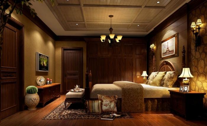 wandgestaltung wandfarbe farbgestaltung schlafzimme licht