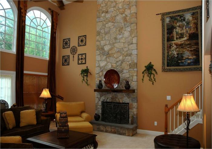 Brauntone wandfarbe alles ber wohndesign und m belideen - Wandfarbe brauntone ...