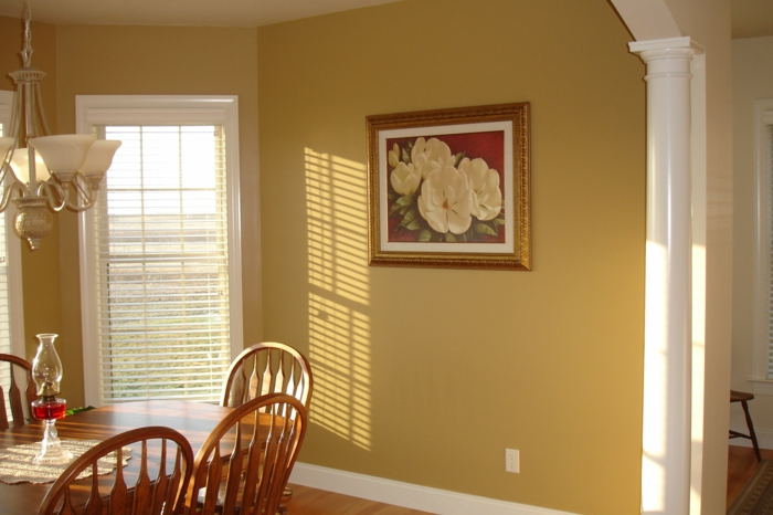 60 überzeugende beispiele für wanddesign in braun - Farbgestaltung Wohnzimmer Braun