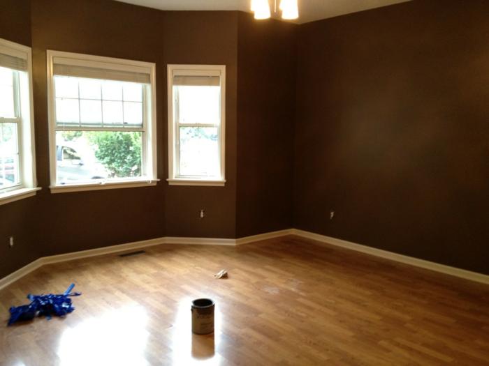 wanddesign wandgestaltung wandfarbe farbgestaltung wohnzimmer neu