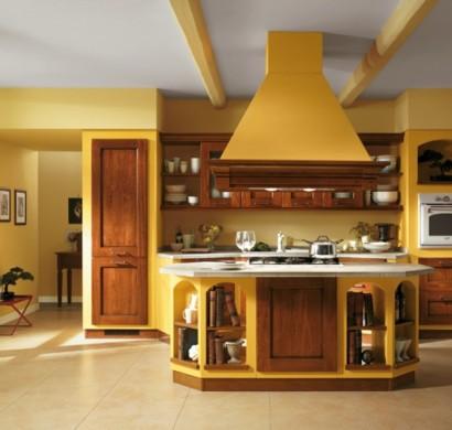 Wandgestaltung wohnzimmer gelb