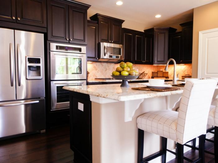 Wandfarbe küche auswählen 70 ideen, wie sie eine wohnliche ...