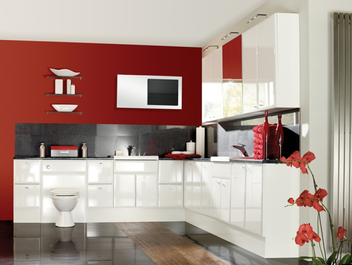 Red And Green Apple Kitchen Decor
