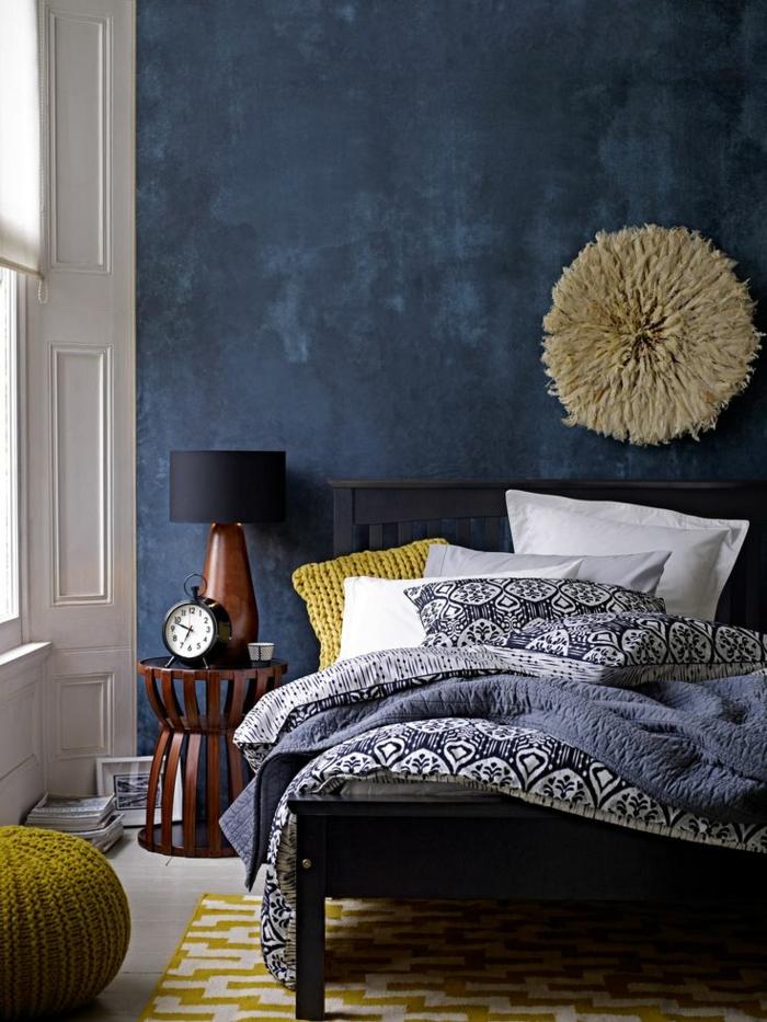 Wände Streichen Ideen In Dunklen Schattierungen Schlafzimmer Dunkle Farben