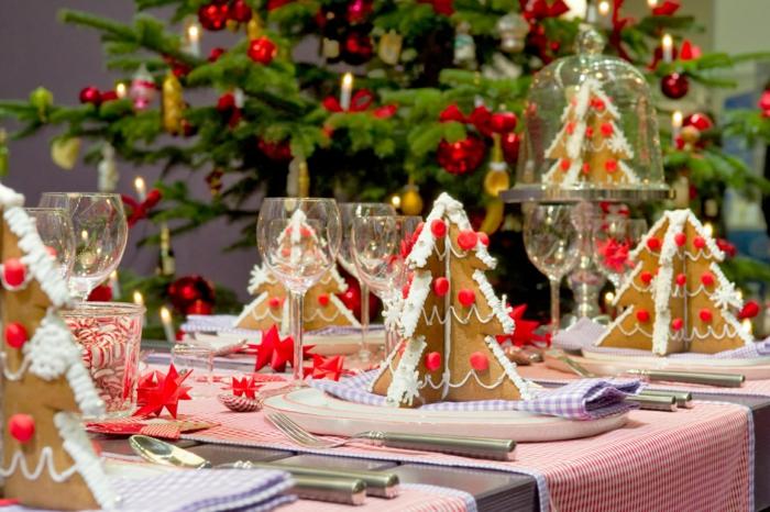 Weihnachtsdeko Basteln Für Den Tisch.Weihnachtliche Tischdeko Selbst Gemacht 55 Festliche