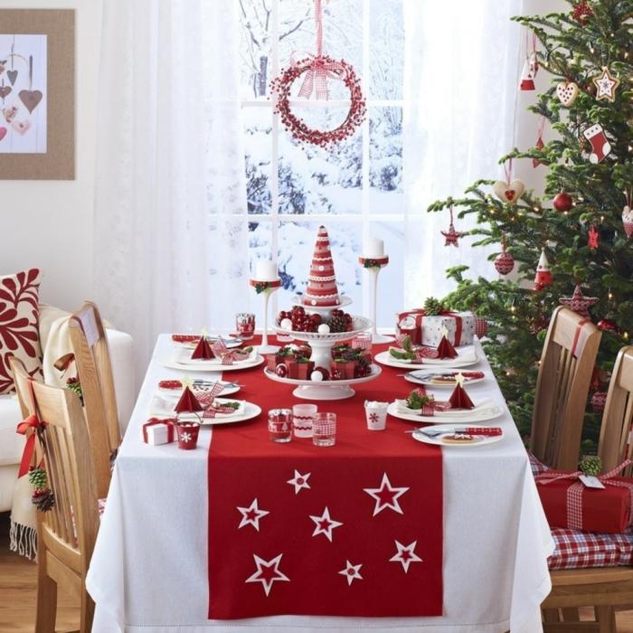 Tischdeko weihnachten ideen  Weihnachtliche Tischdeko selbst gemacht: 55 festliche ...
