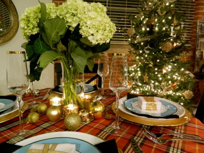 Christmas Lunch Table Decoration Ideas : Weihnachtliche tischdeko selbst gemacht festliche